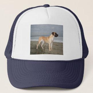 Dogge-König des Hundehutes Truckerkappe