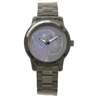 Dogge-Uhr Armbanduhr