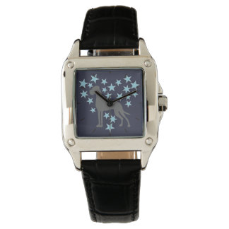 Dogge-Uhr Uhr