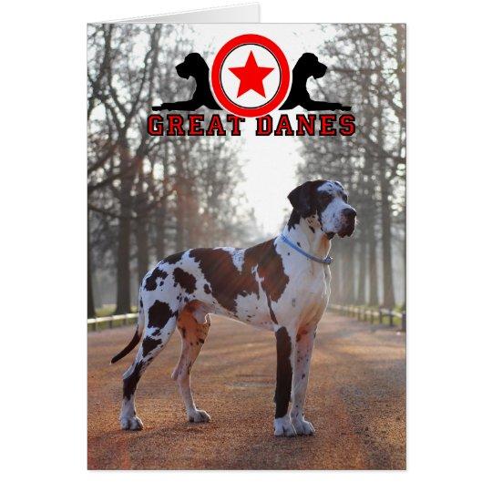 Doggenhaus Dog illustrations Karte