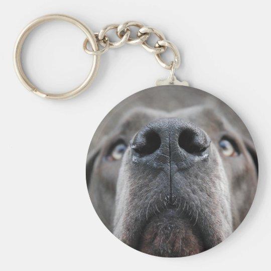 Doggennase Schlüsselanhänger