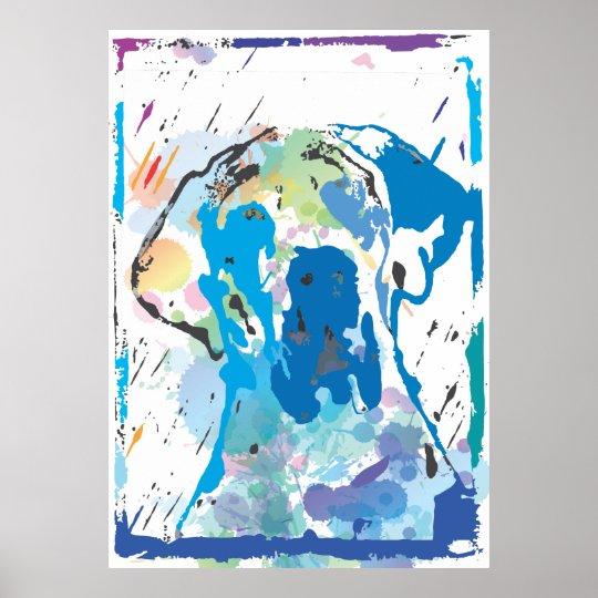 Doggenposter Esra Modern Poster