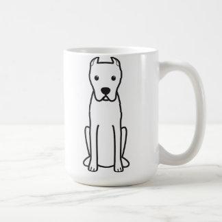 Dogo Argentino Kaffeetasse