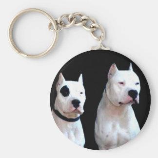Dogo Argentino keychain Schlüsselanhänger
