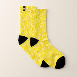 DOgood Makkaroni-Gelb trifft kleines hart Socken