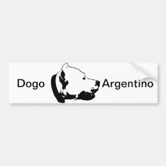 Dogos Autoaufkleber