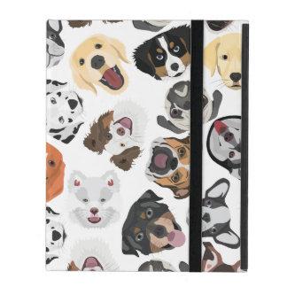 DogPattern01_02_B_Quadrat.ai Etui Fürs iPad