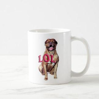 Dogue de Bordeaux LOL Kaffeetasse