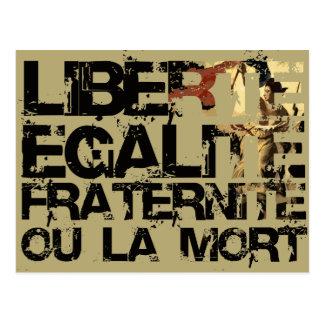 Doin es die französische Weise! Postkarte