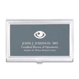 Doktor der Augenheilkunde personalisiert Visitenkarten Etui