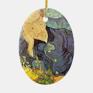 Doktor Gachet Portrait durch Vincent van Gogh Keramik Ornament