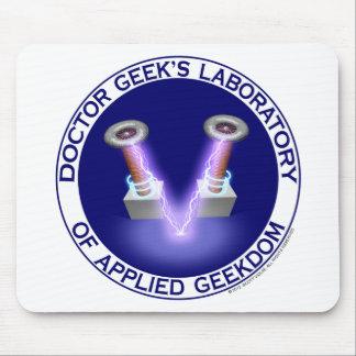 Doktor Geeks Laboratory Logo Mauspads