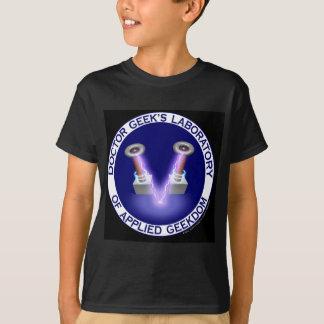 Doktor Geeks Laboratory Logo Wear T-Shirt