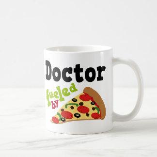 Doktor (lustige) Pizza Kaffeetasse