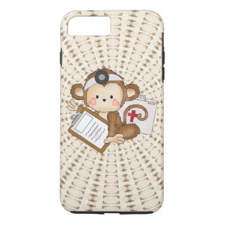 Doktor Monkey iPhone 7 starker Plusfall iPhone 8 Plus/7 Plus Hülle