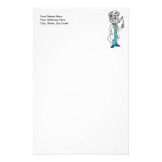 Doktor Nurse Mouse Briefpapier
