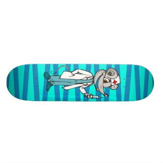 Doktor Nurse Mouse Personalisiertes Skateboard
