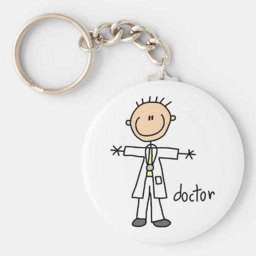 Doktor Strichmännchen Schlüsselanhänger