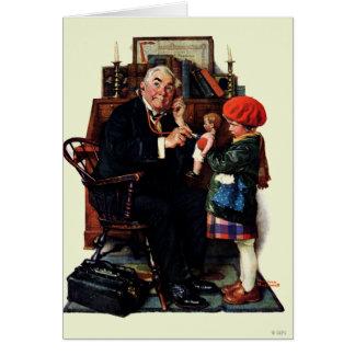 Doktor und die Puppe Karte
