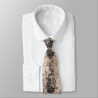 Doktoren Art Anatomy durch Leonardo da Vinci Krawatte