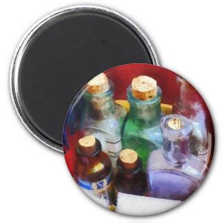 Doktoren - Medizin-Flaschen und Verbände Magnets