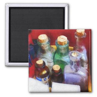 Doktoren - Medizin-Flaschen und Verbände Kühlschrankmagnet