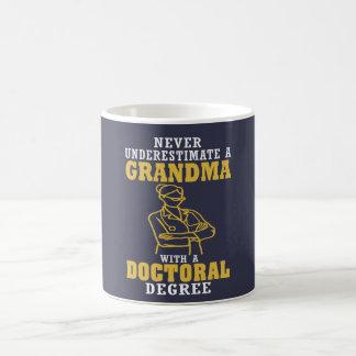 Doktorgrad-Großmutter Kaffeetasse