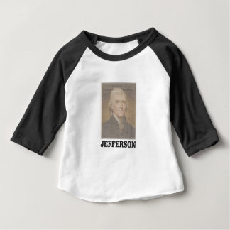 dokumentiertes Jefferson Baby T-shirt