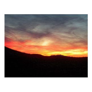 Dolan Frühlinge, Arizona-Sonnenuntergang Postkarte