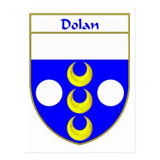 Dolan Wappen/Familienwappen Postkarte