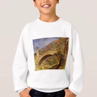 Dolceacqua, Brücke durch Claude Monet Sweatshirt