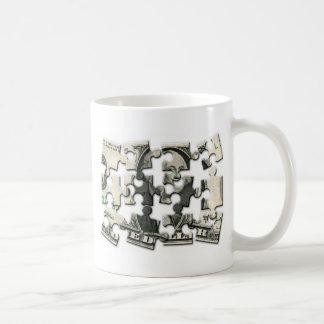 Dollar-Puzzlespiel Kaffeetasse