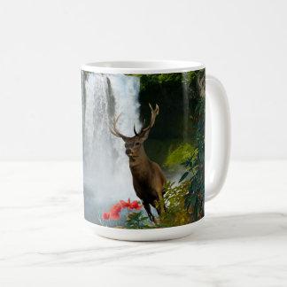Dollar-Rotwild-Wasserfall Kaffeetasse