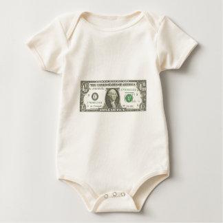 Dollar zehn baby strampler