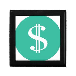 Dollar-Zeichen Erinnerungskiste