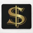 Dollar-Zeichen Mousepad