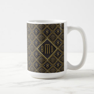 Dollar-Zeichen u. Diamanten Kaffeetasse
