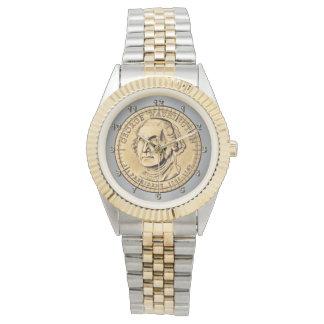 Dollarmünze Armbanduhr