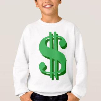 $ Dollarzeichen Sweatshirt