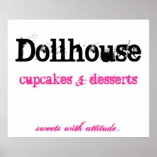 Dollhouse, Kuchen     nachtische, Poster