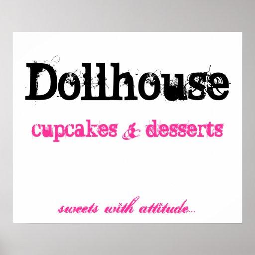 Dollhouse, Kuchen     nachtische, Posterdrucke