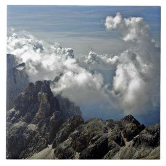 Dolomit-Gebirgszug Große Quadratische Fliese