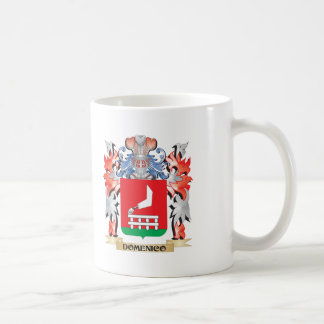 Domenico-Wappen - Familienwappen Kaffeetasse