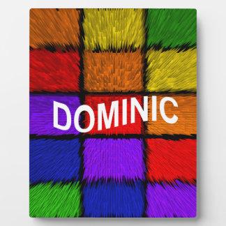 DOMINIC FOTOPLATTE