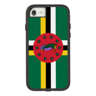 Dominica-Flagge Case-Mate Tough Extreme iPhone 8/7 Hülle