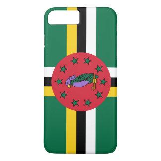Dominica-Flagge iPhone 8 Plus/7 Plus Hülle