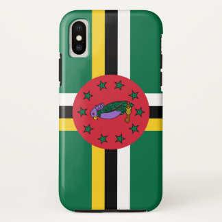 Dominica-Flagge iPhone X Hülle