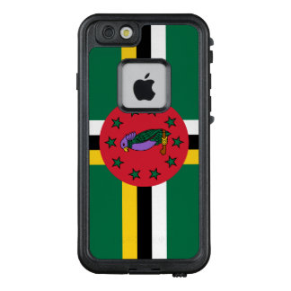 Dominica-Flagge LifeProof FRÄ' iPhone 6/6s Hülle