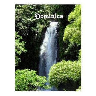 Dominica Postkarte