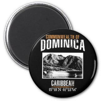 Dominica Runder Magnet 5,7 Cm